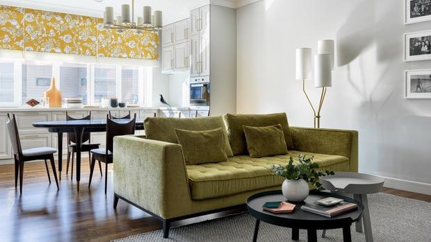 Особенности дизайна кухни-гостиной в доме и квартире