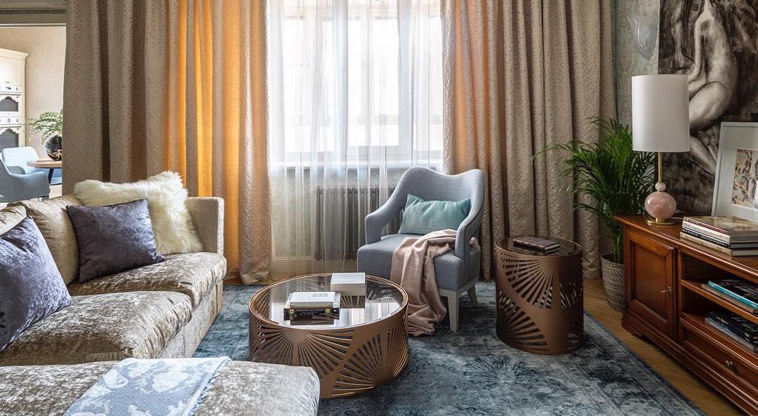 Гостиная в стиле эклектика: много фото и идеи декора в одной статье