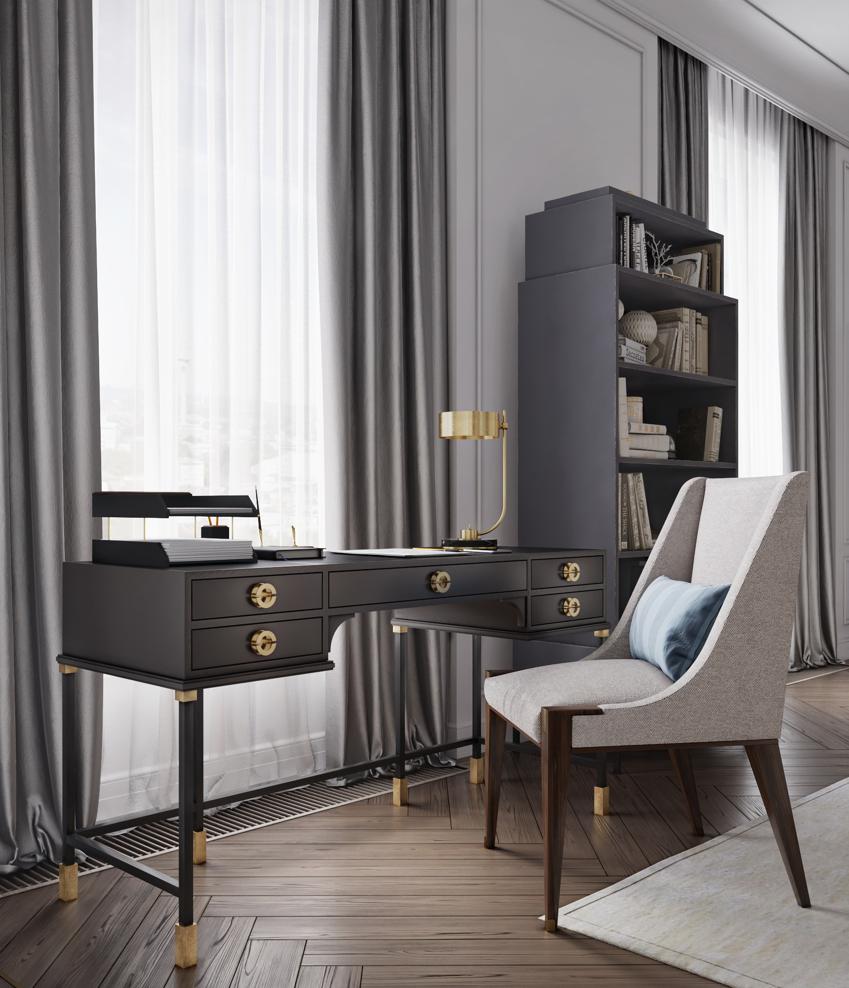 Письменный стол Any-Home P015 -  P015 | AnyHome.ru