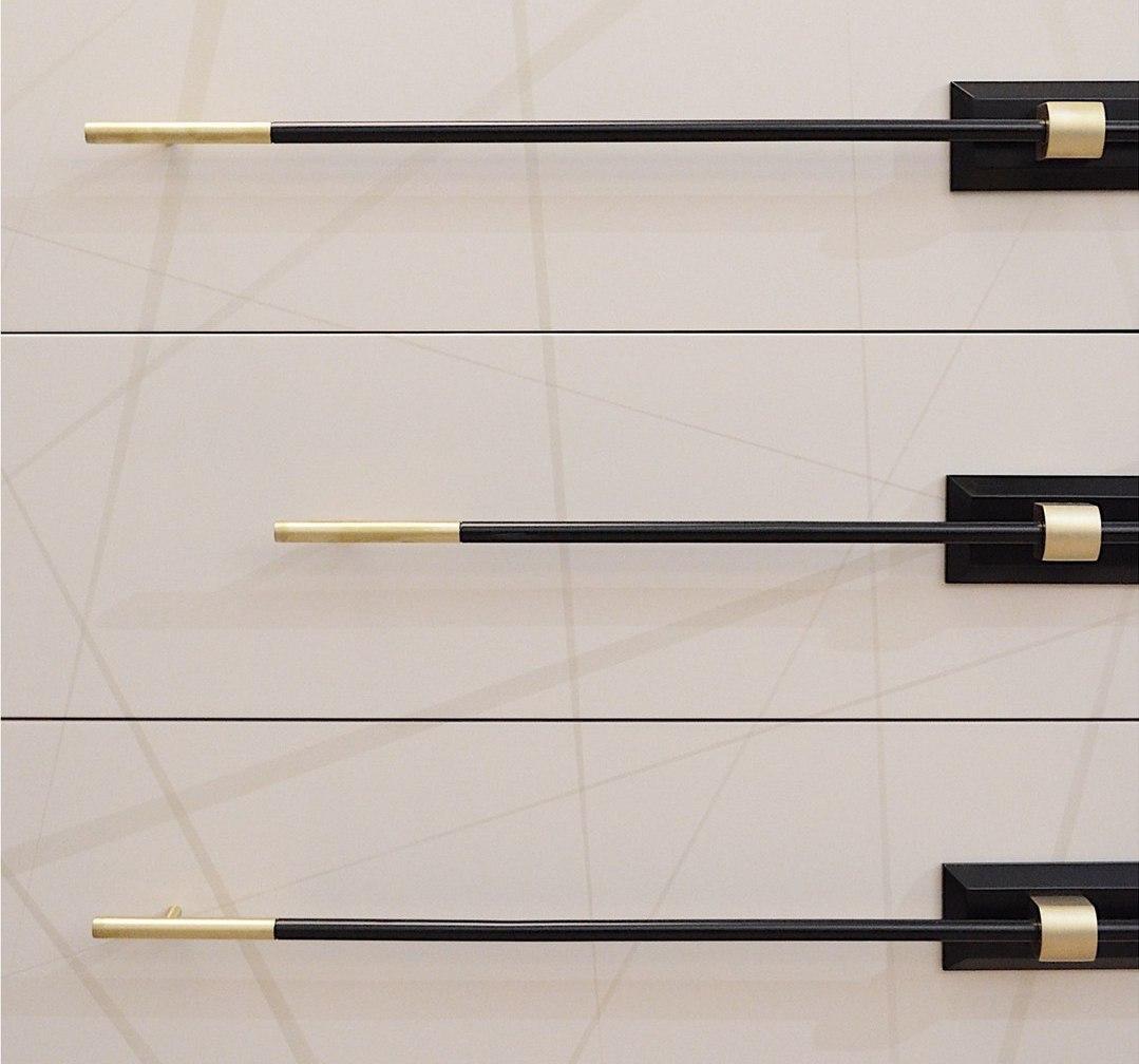 Ручка рейлинг R013 цилиндрическая Any-Home - R013 | AnyHome.ru