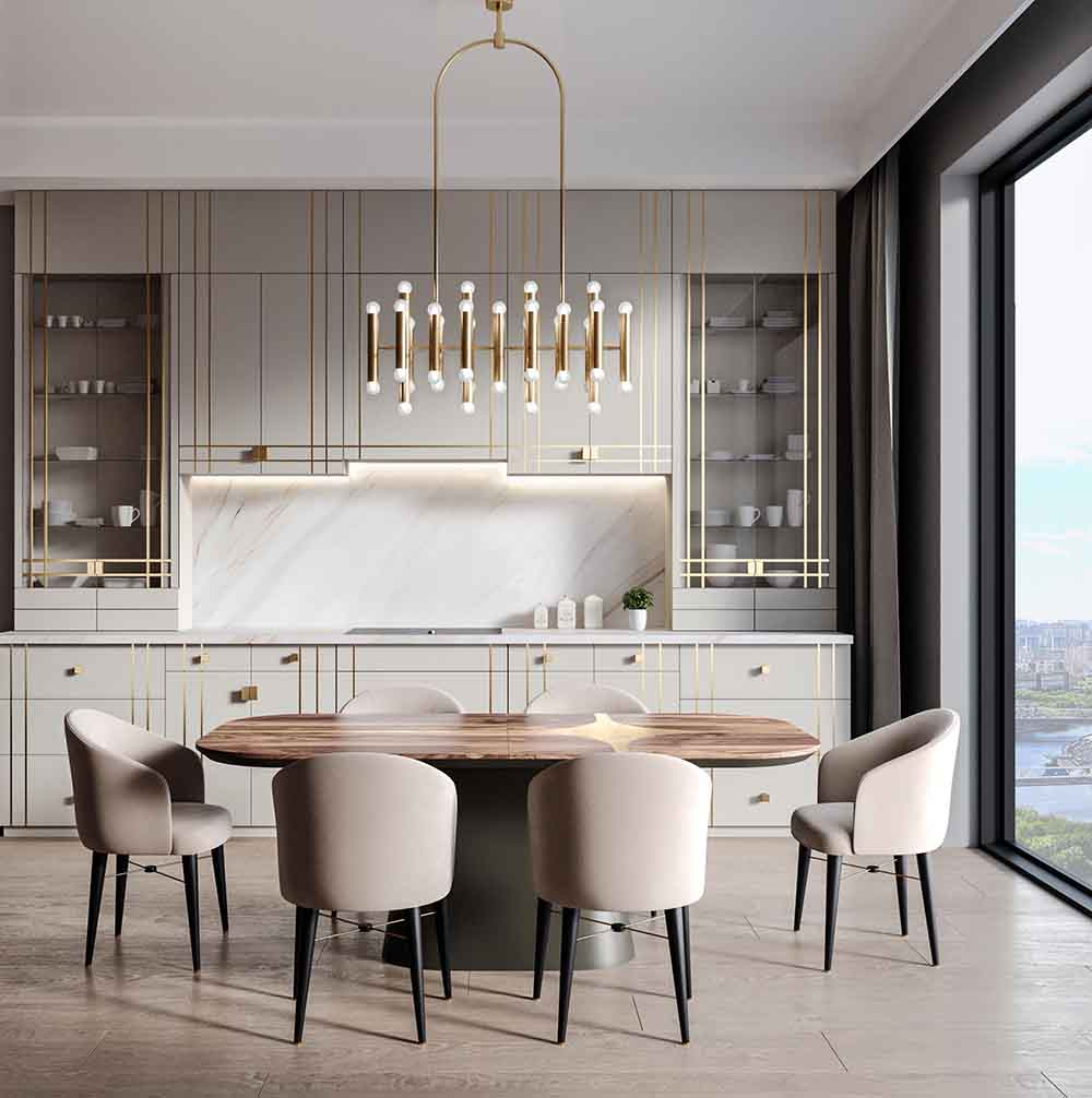 Дизайнерские кухни Any-home.ru KT006